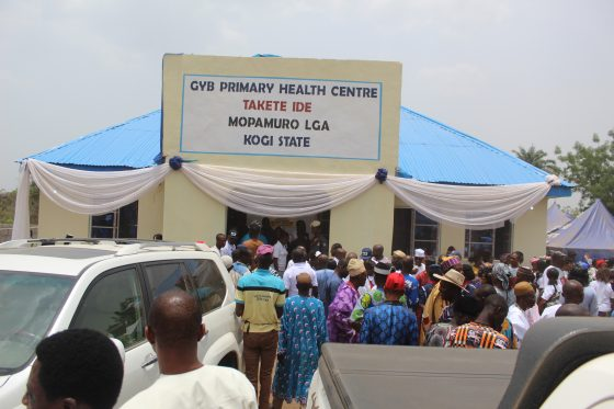 Gov Yahaya Bello Commissions Takete Ide Ultramodern Health Centre